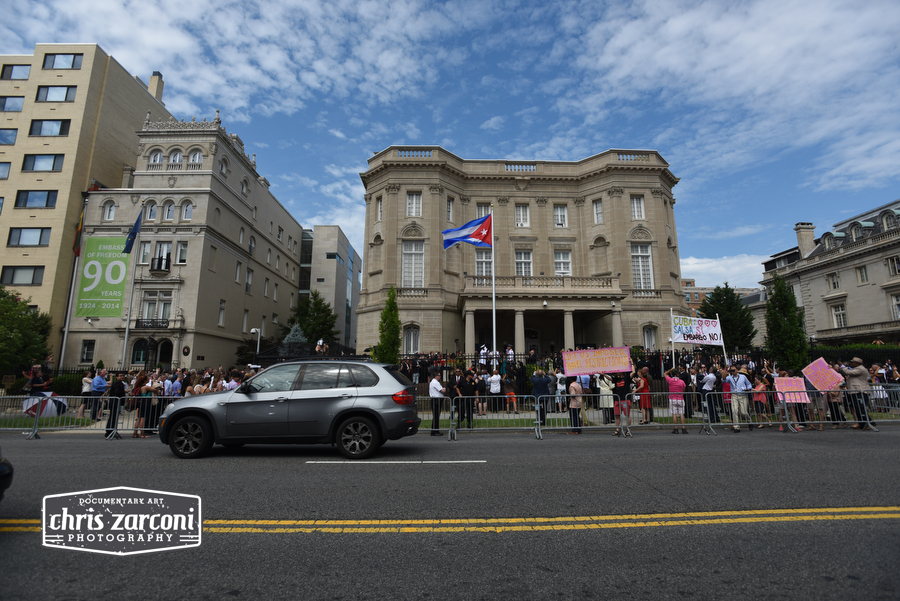 cuban embassy opens in usa us raising the cuban flag cuba restores diplomatic ties to us cuban interest station
